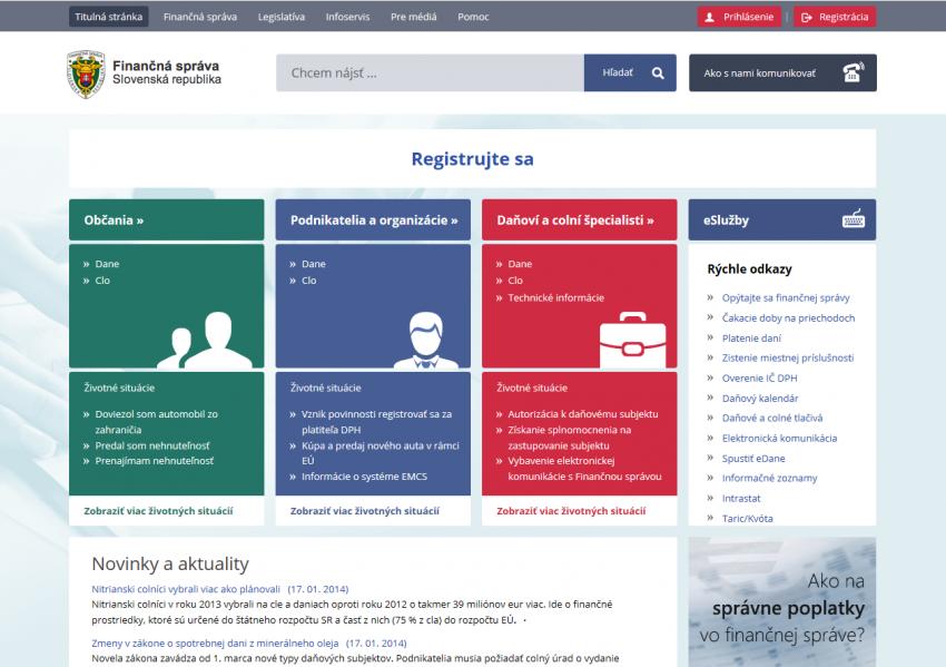 Portál finančnej správy