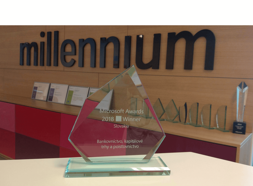 Microsoft Awards 2018 for Millennium